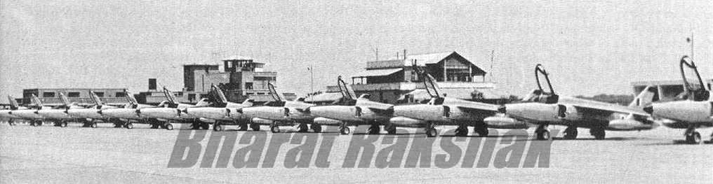 Gnat Line up - An enemy pilots nightmare.