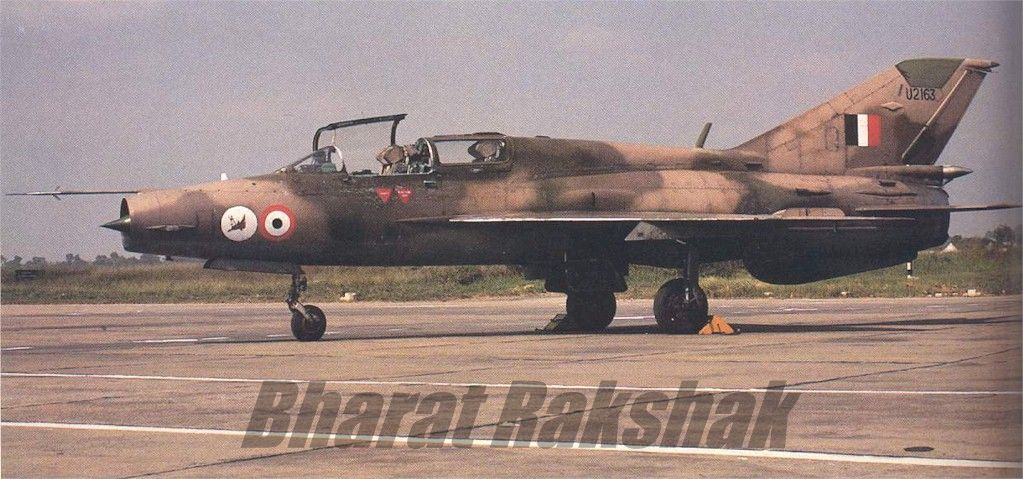 MiG-21UM of the Hawkeyes