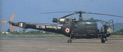 BZ798 is one of the oldest Chetaks in IAF Inventory.