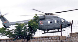 Dhruv undergoing test flights