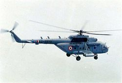 Mi-17 1V Z3373 equipped with rocket pods