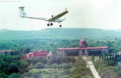 Low over the Sudan Block - National Defence Academy