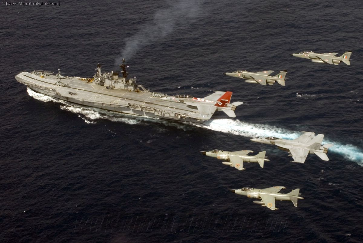 Maritime Jaguars from No.6 Squadron in the USN - IN Exercise