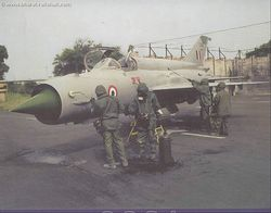 A MiG-21 Bis gets the treatment