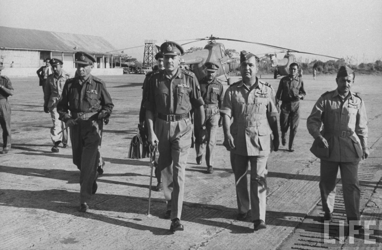 Army Chief visit to Tezpur (1963)